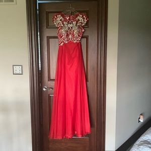 ALYCE BLACK LABEL Red Prom Dress